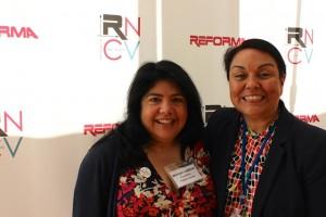 Brigida Campos and Jacqueline Ayala