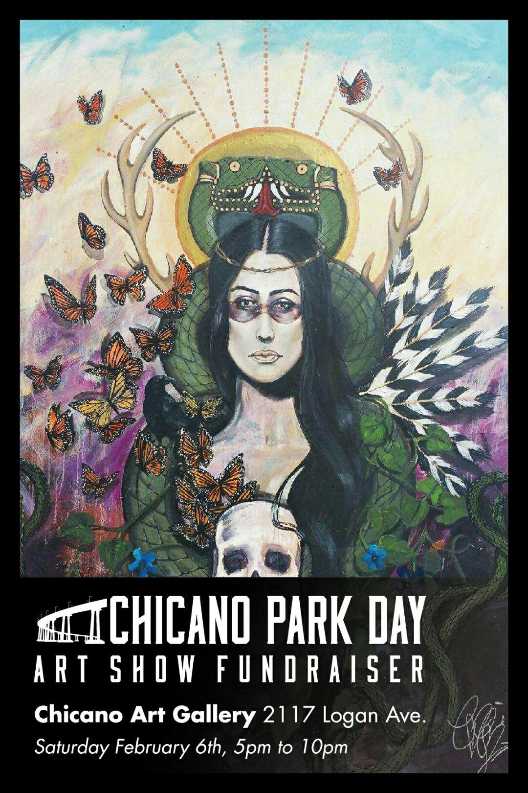 Chicano Park Day Fundraiser Flyer