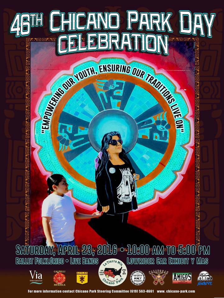 Chicano Park Day flyer
